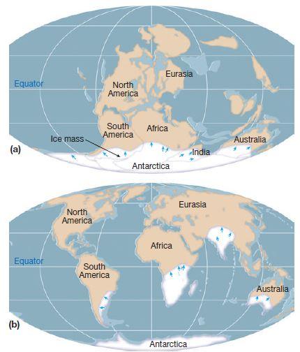 Alfred Wegener's theory of continental drift and Evidence   UPSC - IAS UPPCS