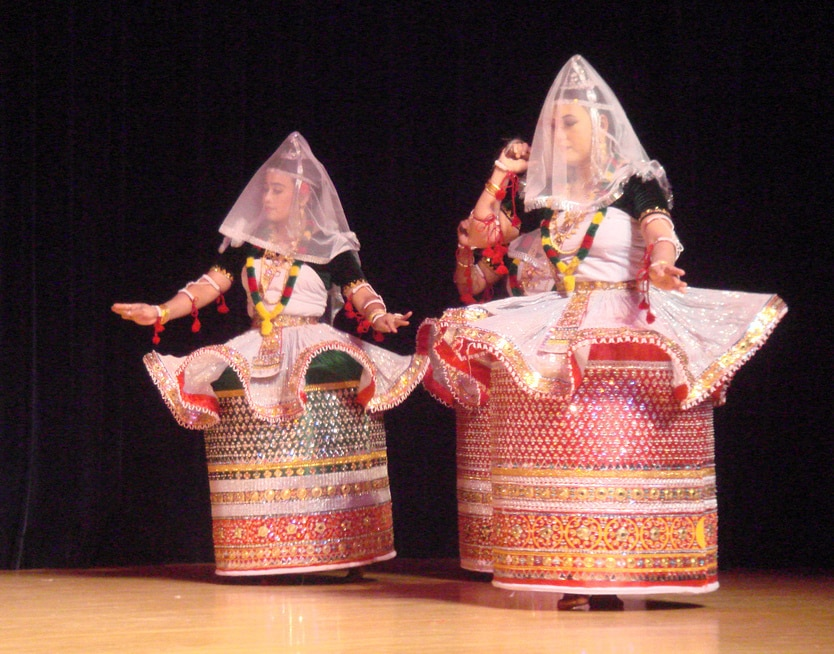 short note on manipuri dance upsc