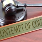 Types of Contempt of Court and its related Article | UPSC – IAS